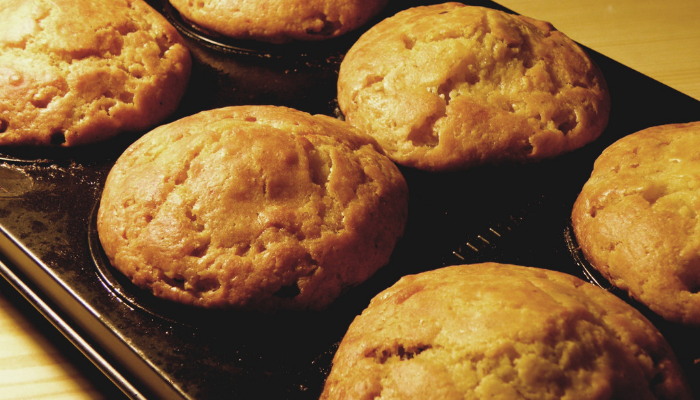Receta: Muffin de platano