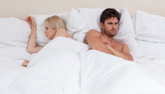 Causas que disminuyen el apetito sexual