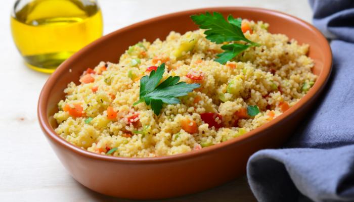 Receta: Couscous con verduras