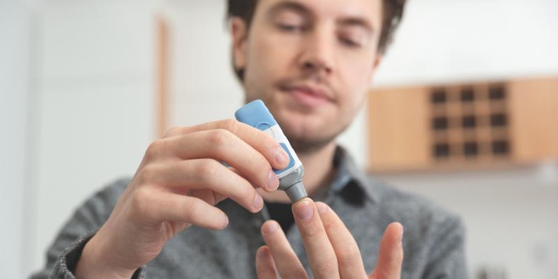 La diabetes es diferente en los hombres