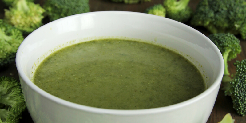 Receta: Sopa de brocoli