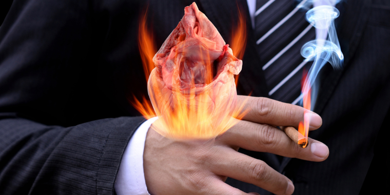 ¿De qué manera el fumar hace daño al corazón?