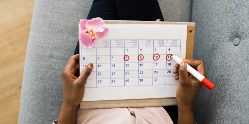 ¿Sus ciclos menstruales son abundantes?